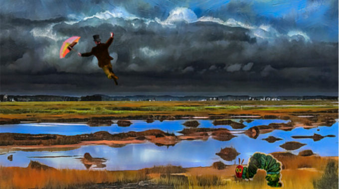 Beware Of Spiritual Shortcuts.Rusty Russ, Windy Day On The Marsh